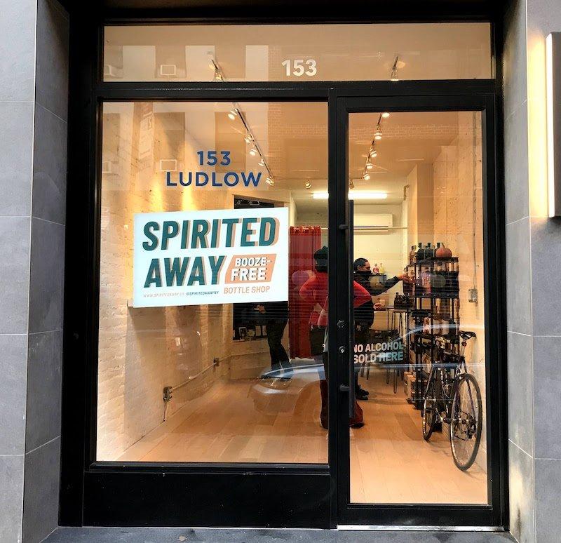 A Look Inside Spirited Away, New York City's First Booze-Free Bottle Shop