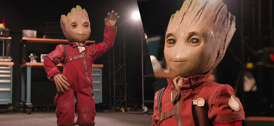 Disney Imagineering's Baby Groot robot is absolutely incredible