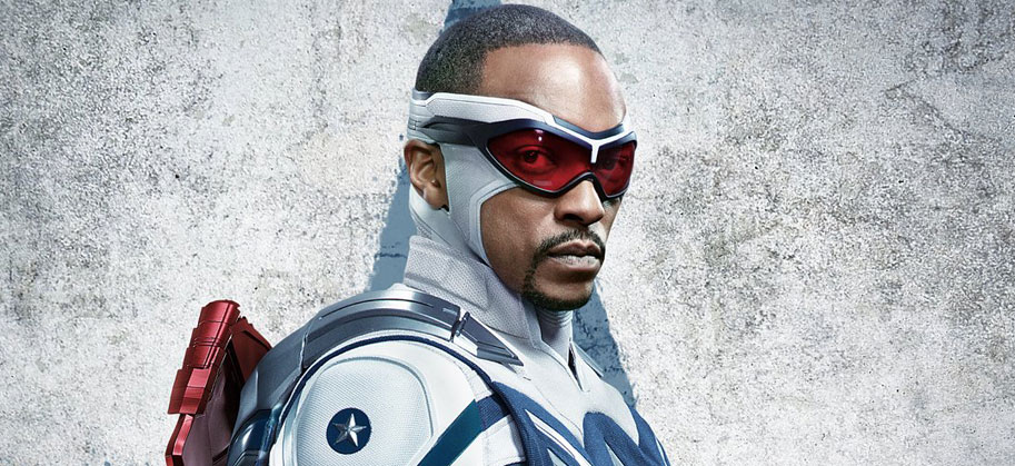 Falcon & Winter Soldier: Anthony Mackie is Captain America in new poster