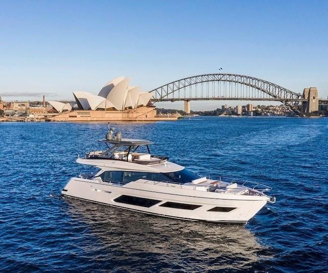 Ferretti Yachts 720 in Australia