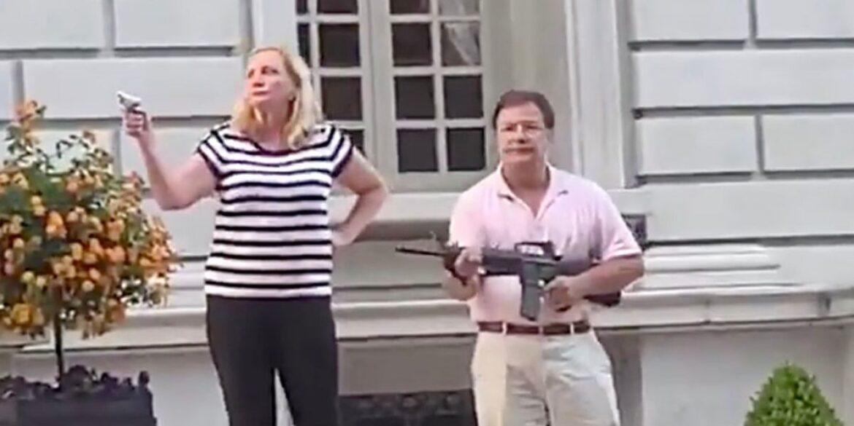 Man Who Pointed Gun At BLM Protesters Considering Senate Run