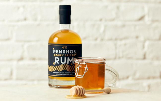 Penrhos Honey Spiced Rum honours local bees