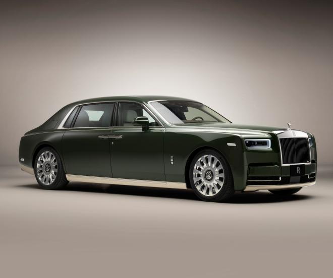 Rolls-Royce Collaborates with Hermès to Create Bespoke Phantom Oribe