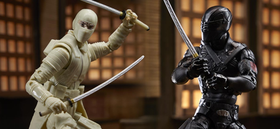 Snake Eyes toys reveal first looks at the G.I. Joe Origins characters