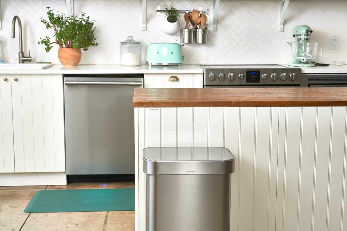 The Single Best Thing You Can Do to Keep Your Kitchen Trash Can from Stinking