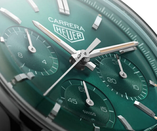 Green-Lit: TAG Heuer's Carrera Green Special Edition