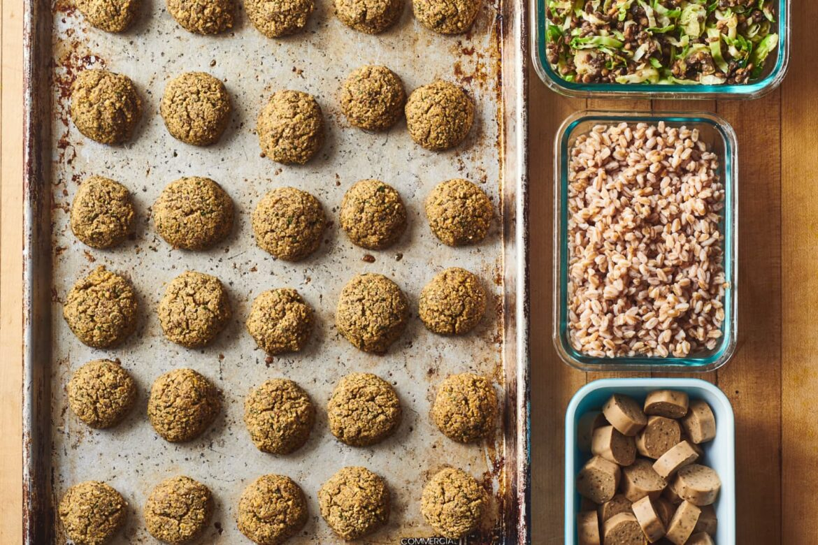 How I Prep a Week of Vegetarian Meals from Trader Joe's in Just 1 Hour