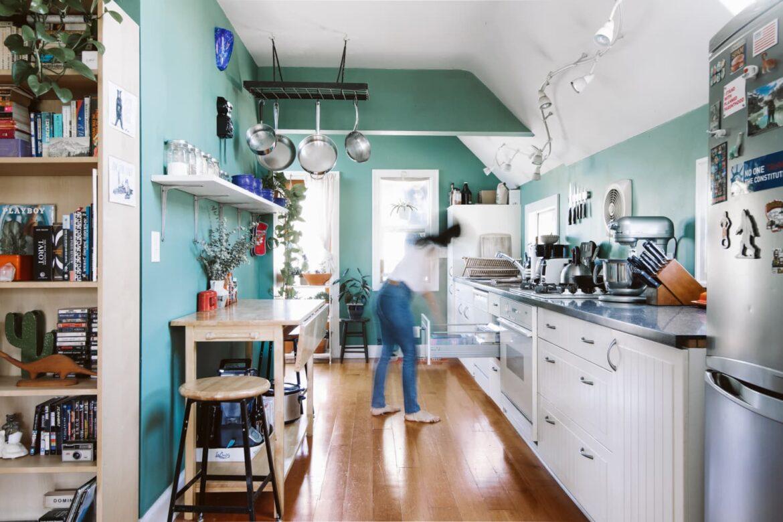 I Splurged on a $200 Kitchen Trash Can — And It Was 100 Percent Worth It