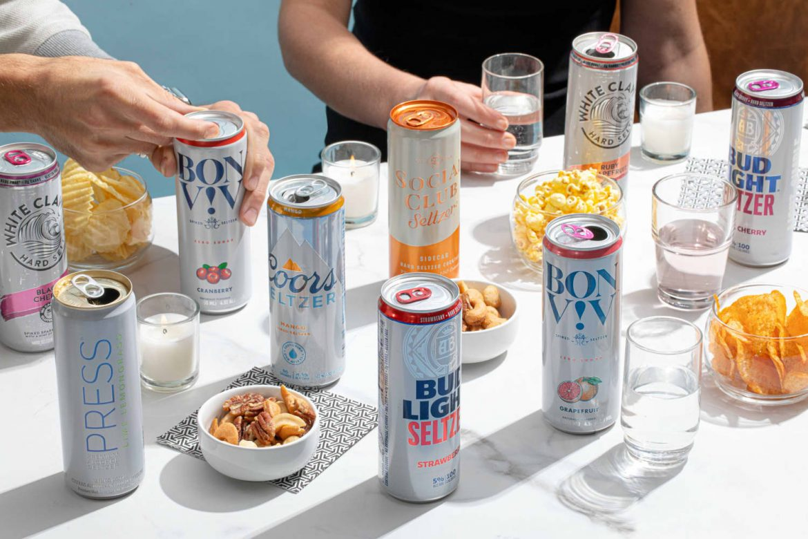 I Tried 21 Brands of Spiked Seltzer and Was Shocked by the Winner