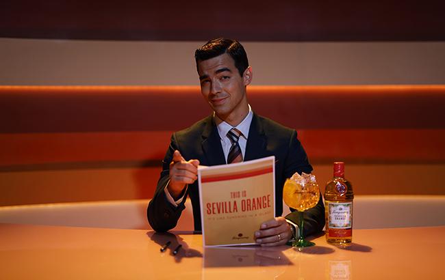 Joe Jonas fronts Tanqueray Sevilla spot