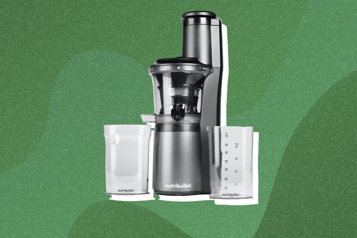 Nutribullet Just Launched a Powerful New Juicer That Also Makes Creamy Nut Milk
