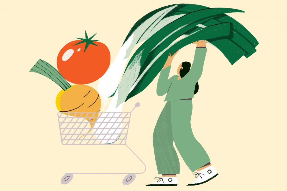 Grocery Store Secrets of People Who Eat a Lot of Plants