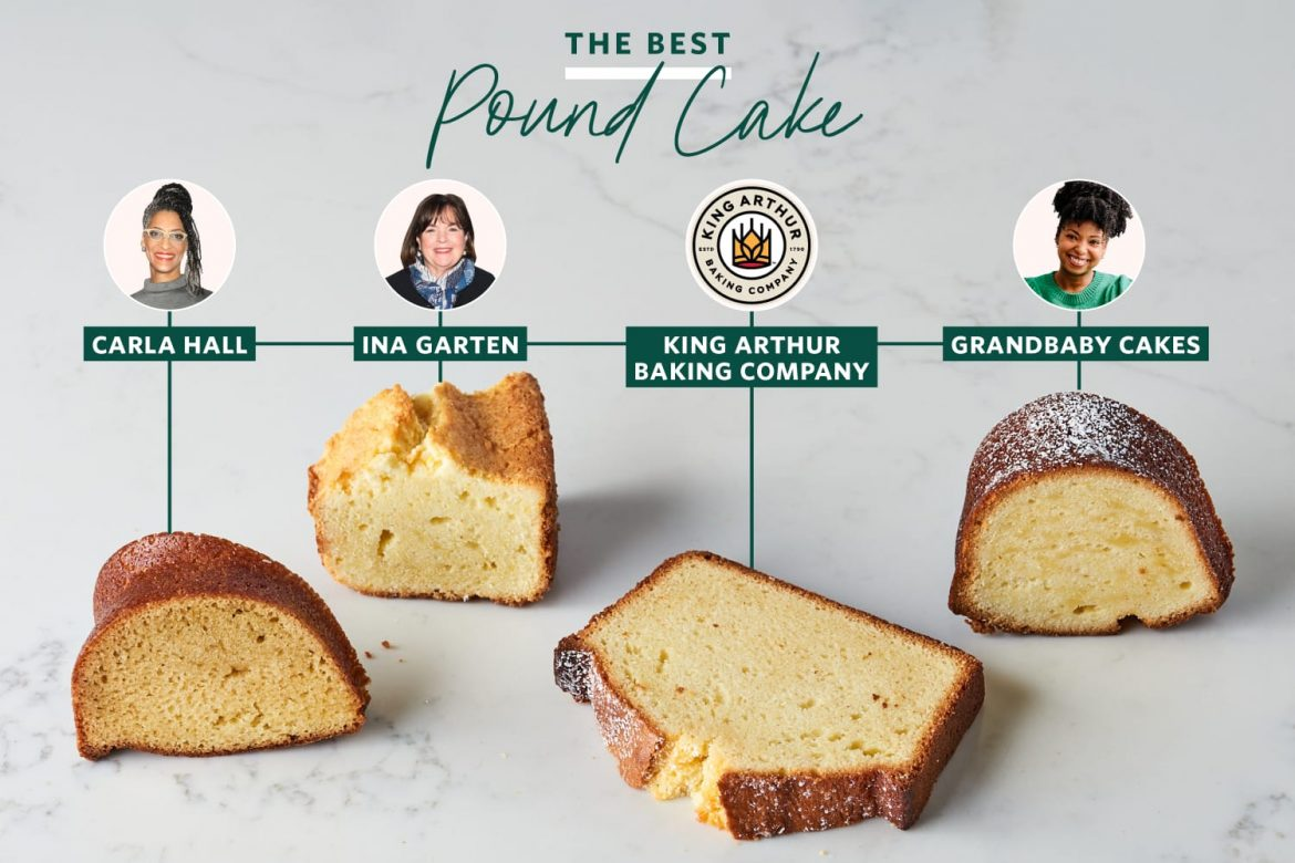 I Tried 4 Famous Pound Cake Recipes and the Winner Is Absolutely Flawless