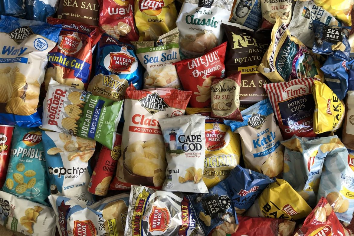 I Tried 40 Bags of Plain Potato Chips (Yes, 40!) and These Were the Best Ones