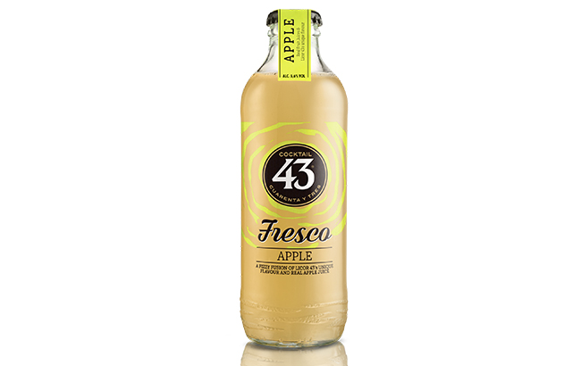 Licor 43 adds apple flavour to RTD range