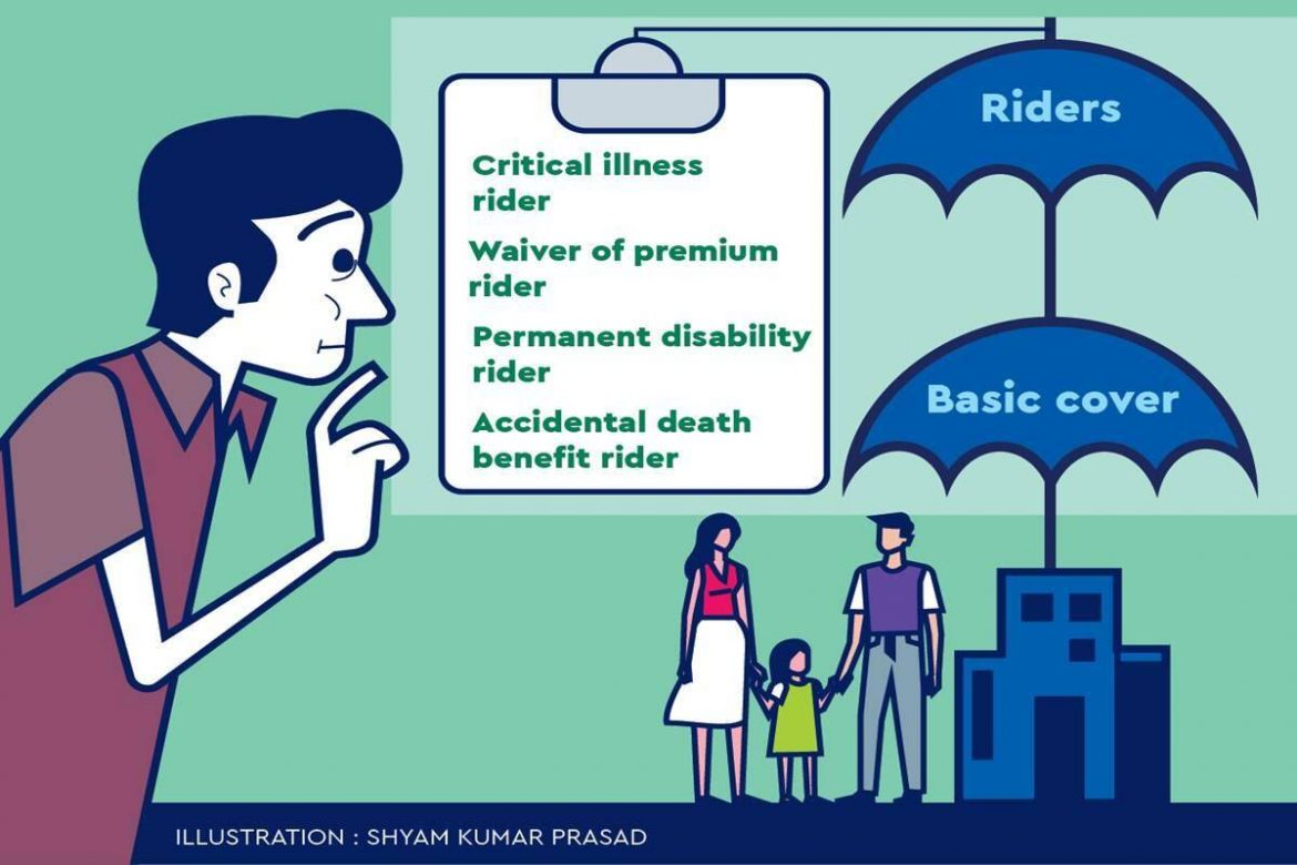 Life insurance: Check out the riders with your basic cover