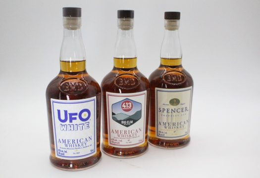 Review: Berkshire Mountain Distillers Craft Brewers Whiskey Project – UFO White, Big Elm, and Spencer Ale