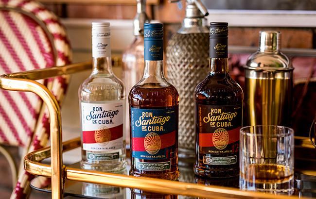 Ron Santiago de Cuba rum revamps range