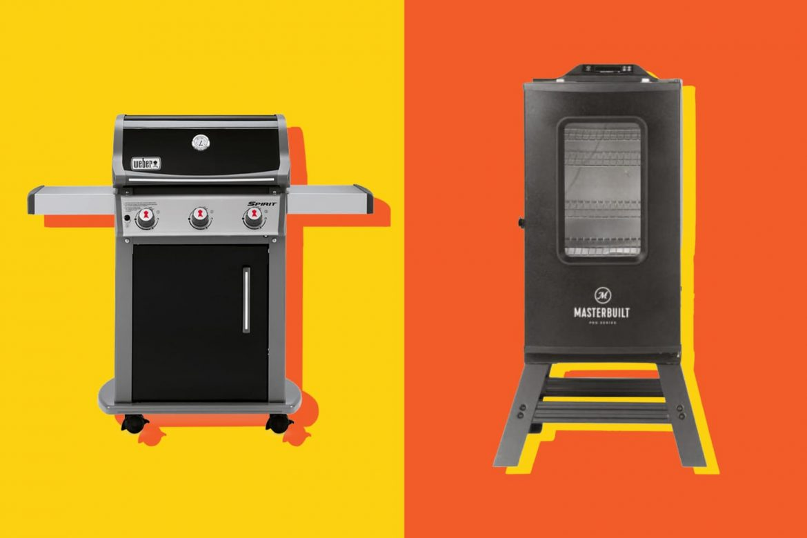 What's the Difference Between a Smoker and a Grill?