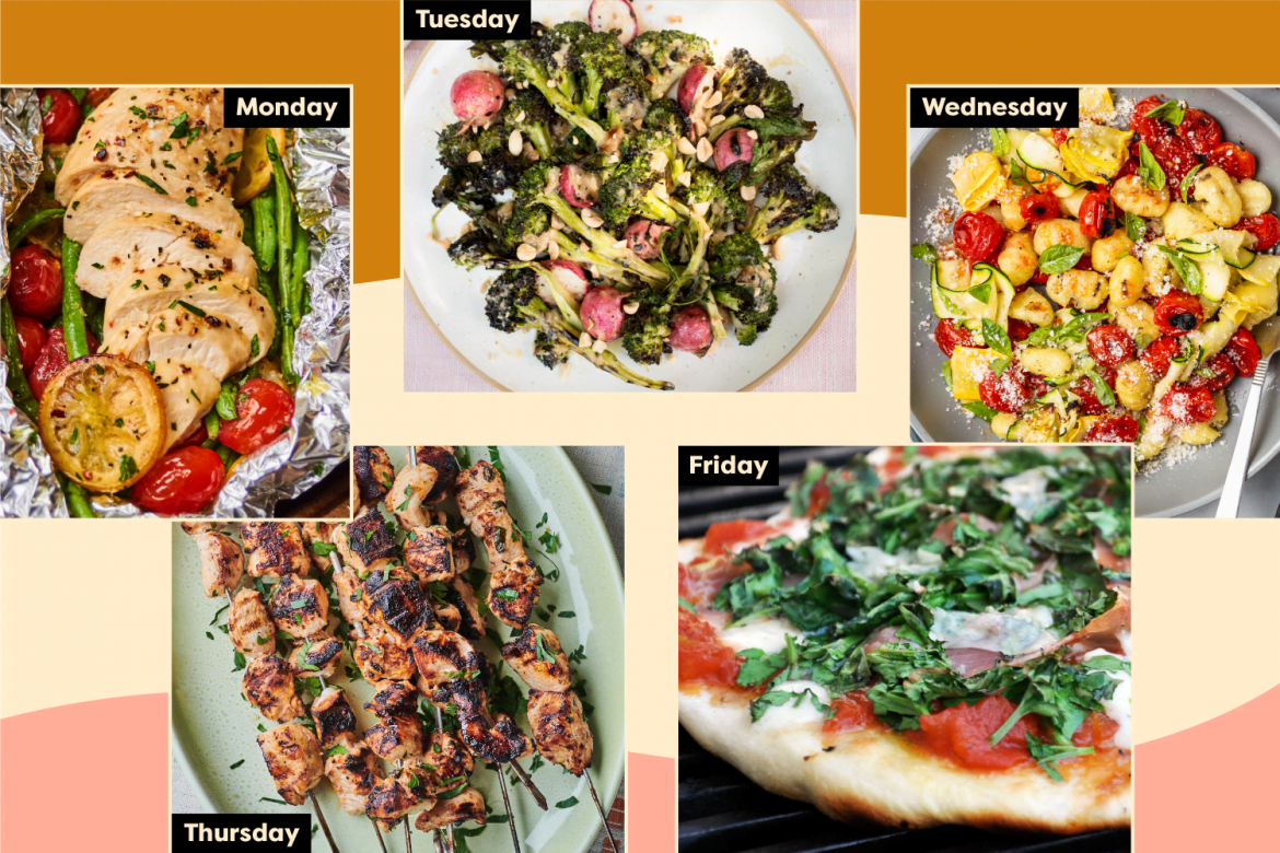A Week of Go-to Summer Dinners to Keep on Repeat