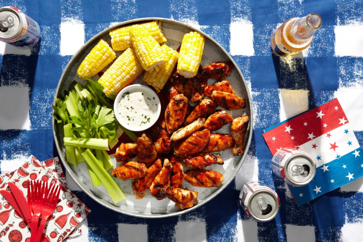An Easy Fourth of July Menu with All of the Fireworks