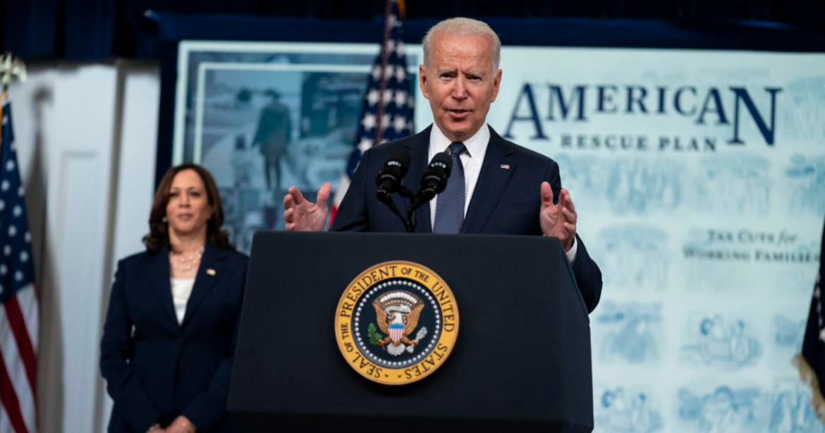 Biden Praises 'Historic' Child Tax Credit As A Way To End Child Poverty