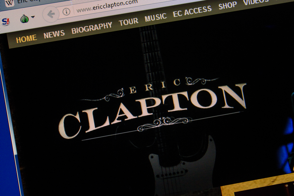 """Eric Clapton: """"I Will Not Perform Anywhere Where There is a Discriminated Audience"""""""