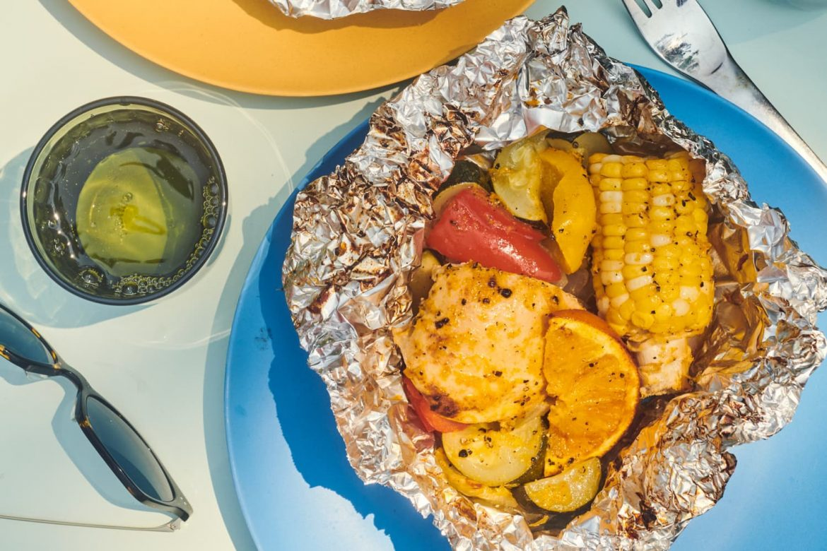 Honey Orange Chicken Foil Packets Are a Flavorful, Mess-Free Win