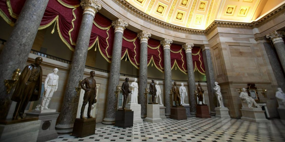 House Votes To Remove Confederate Monuments From Capitol