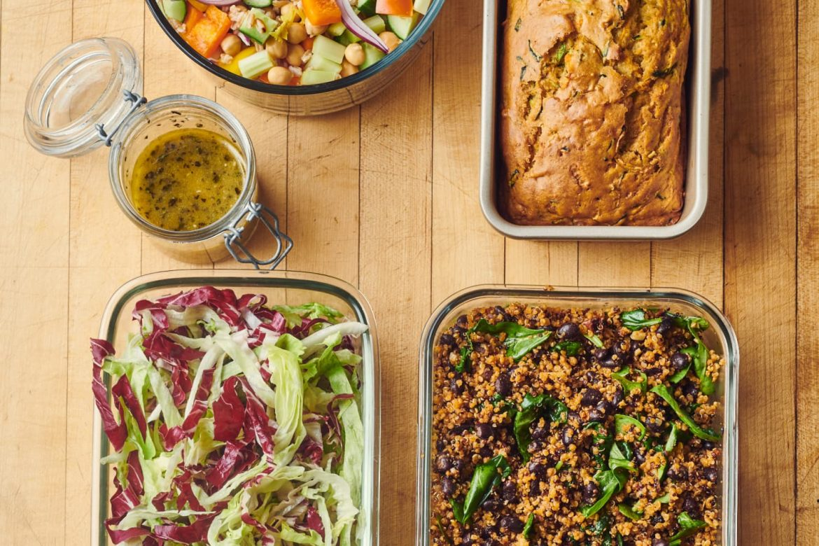 How I Prep a Week of Easy Meals That Are Mostly Vegetables