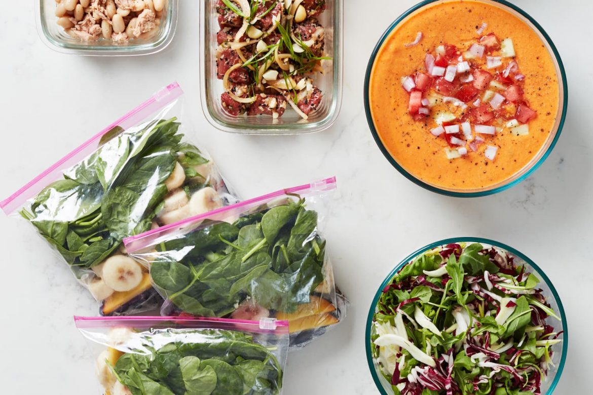 How I Prep a Week of Easy, No-Heat Summer Meals