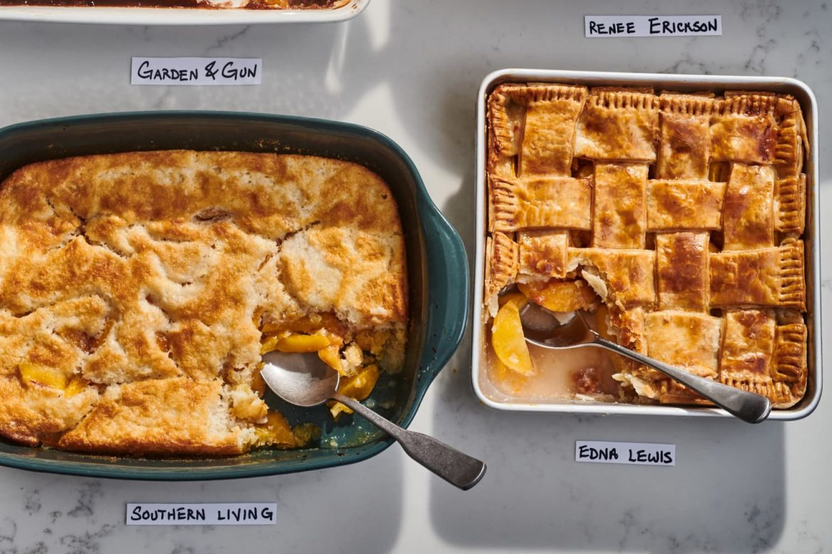I Tried 4 Popular Peach Cobbler Recipes and the Best Was Also the Easiest