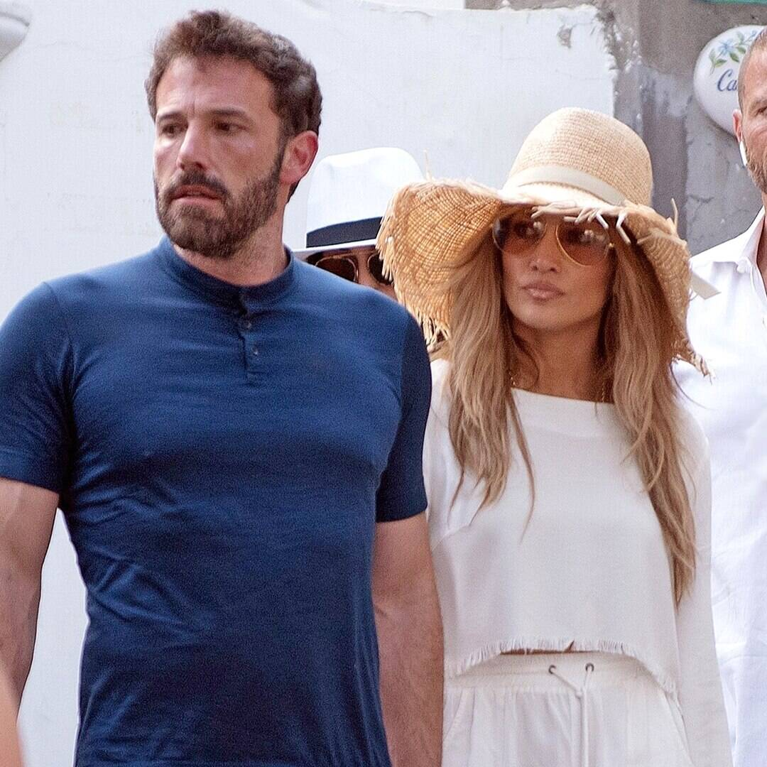 Jennifer Lopez and Ben Affleck Take Their Love to Capri During Romantic Outing