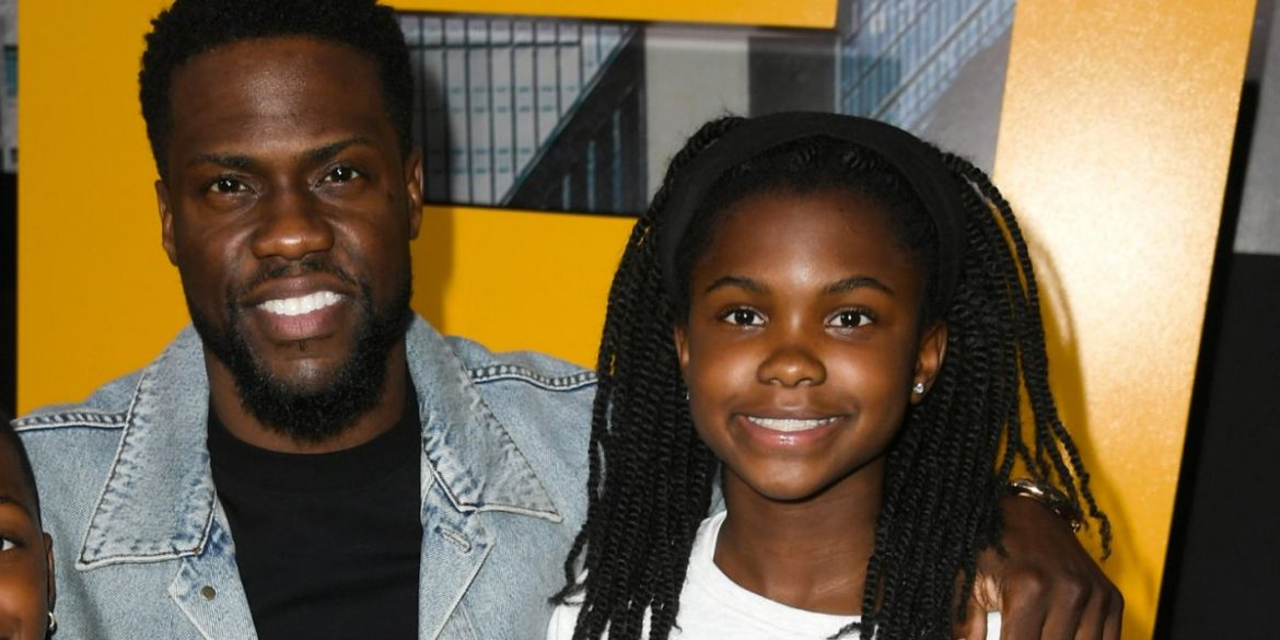 Kevin Hart Teaches His Teen Daughter To Drive