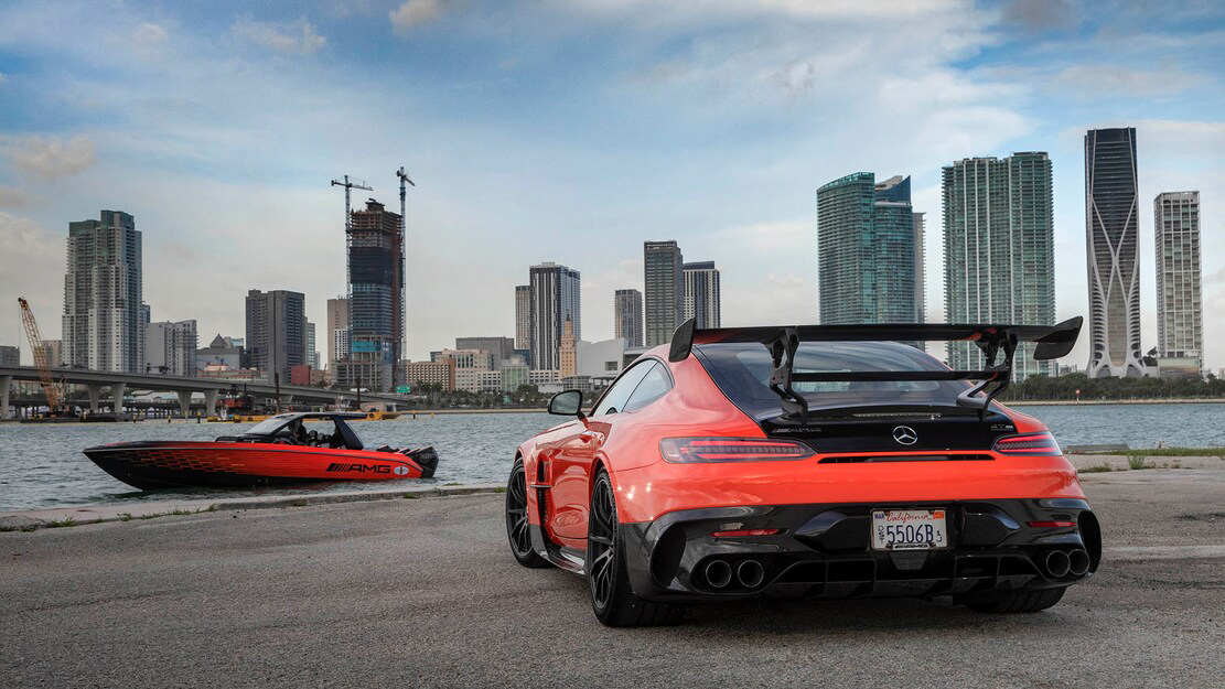 New AMG 2,250 Horsepower Cigarette Boat is a GT Black Series for the Water