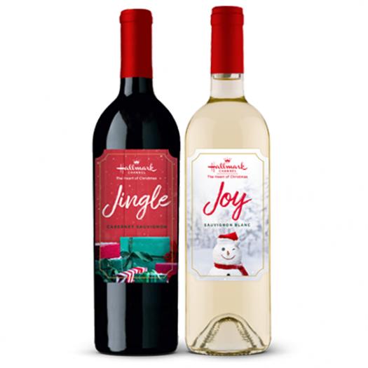 """Review: Hallmark Christmas Wines: 2018 """"Jingle"""" and 2019 """"Joy"""""""