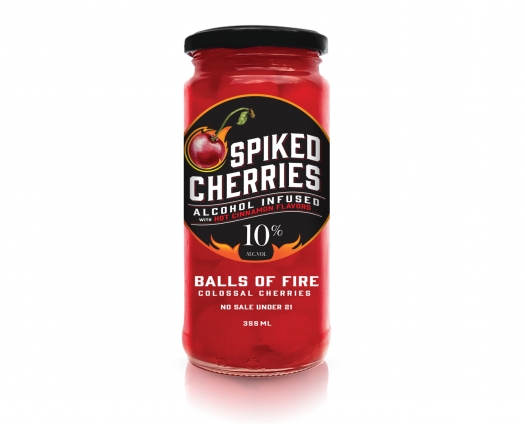 Review: Spiked Cherries – Original and Balls of Fire