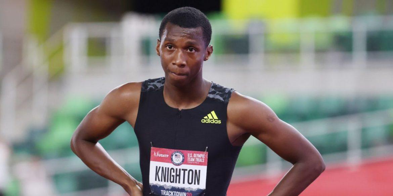 Teen Olympian Erriyon Knighton Tops Usain Bolt Youth Record