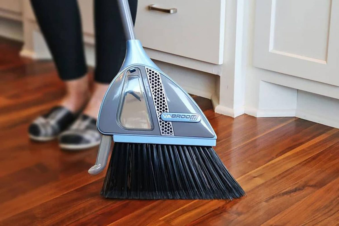 This 2-in-1 Vacuum Broom Makes Cleaning So Much Easier — and It's on Sale!