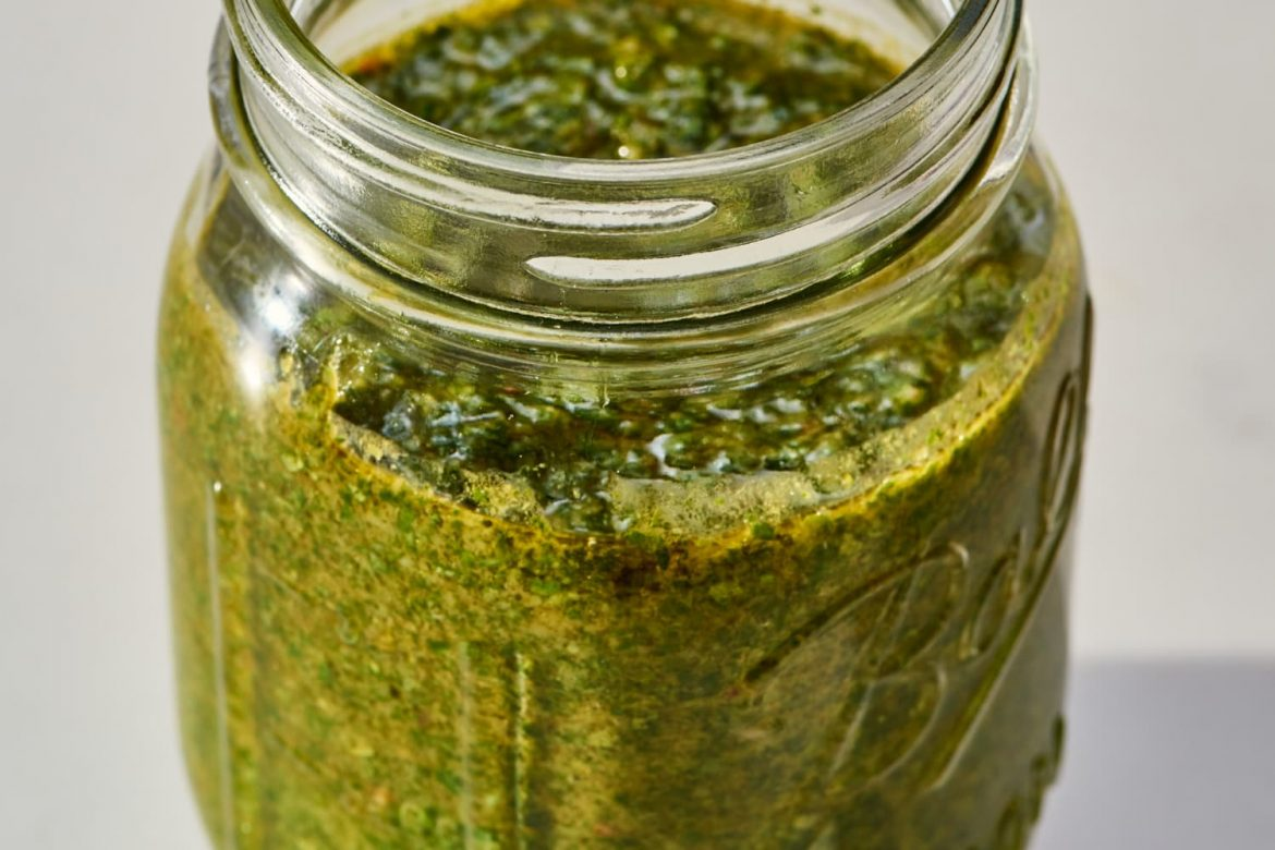 This Easy, Herby Sauce is My Go-To Summer Condiment (It Tastes Great on Steak)
