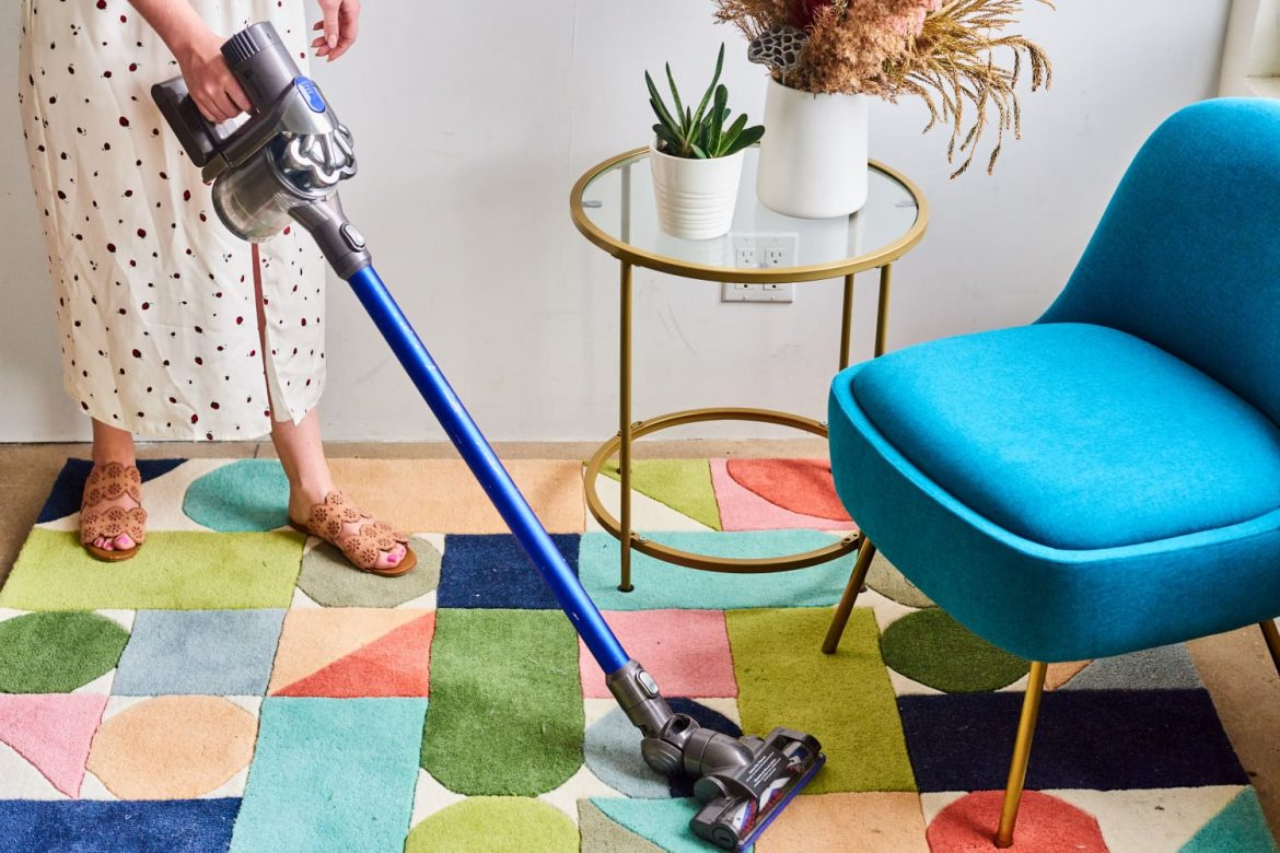 This Powerful Dyson Stick Vacuum Is Perfect for Homes with Pets — and $80 off Right Now
