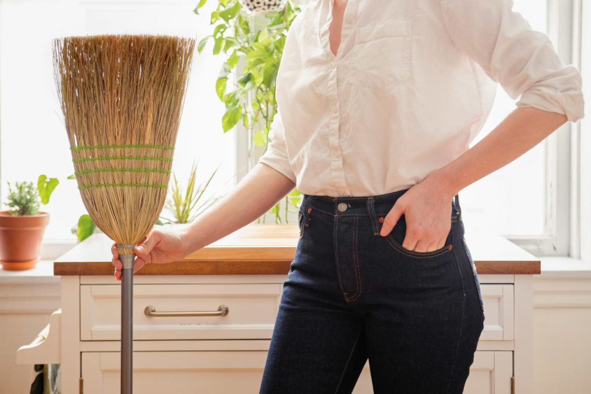 This Simple Trick Will Finally Help You Sweep Up That Last Bit of Dirt