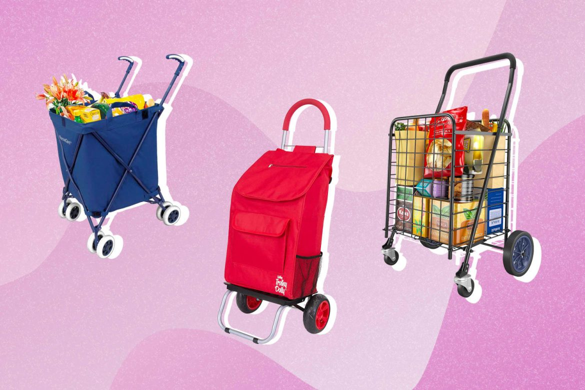 6 Folding Shopping Carts That'll Make Your Grocery Haul So Much Easier