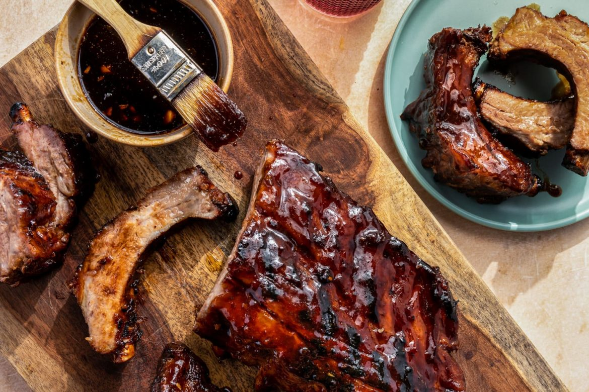 A Splash of Rum Is the Secret to These Succulent Grilled Baby Back Ribs