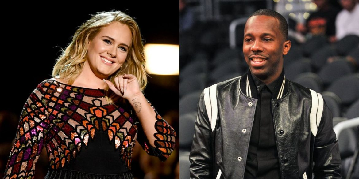 Adele And Her Rumored Boyfriend Rich Paul Have Dinner