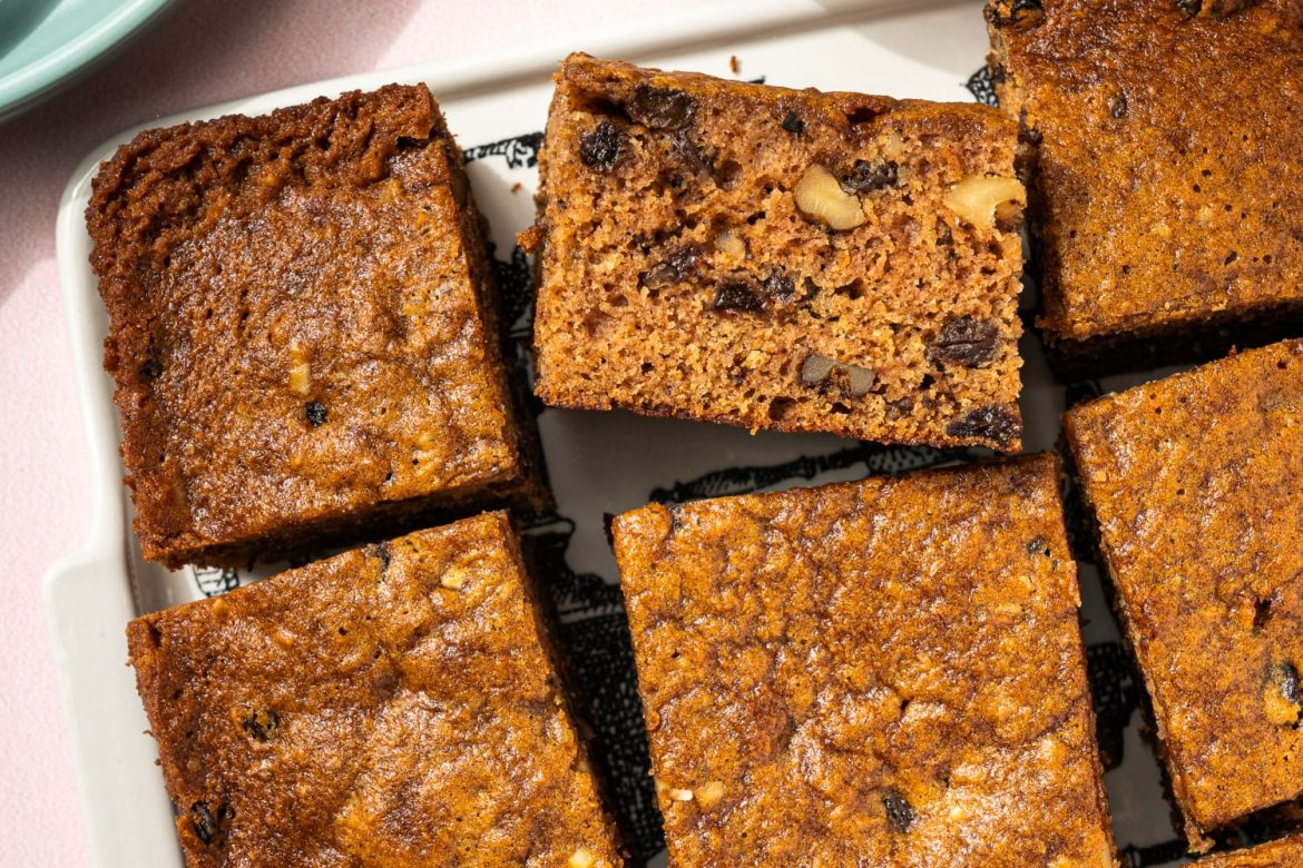 Applesauce Cake with Hot Rum Sauce Will Get You So Excited About Fall