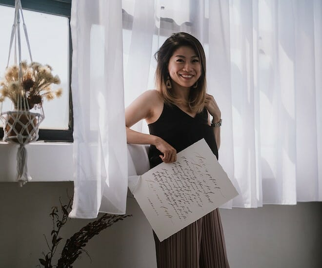 Artist Belinda Liew: Connecting Through Calligraphy and Watercolour