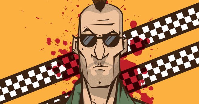 Awesome Art We've Found Around The Net: 2001, Beetlejuice, Gundam, Taxi Driver