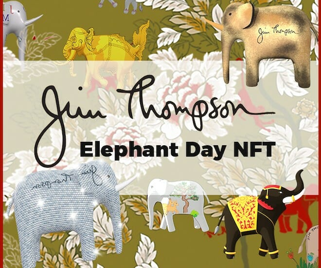 Binance Charity Foundation Supports the inaugural Jim Thompson Elephant NFTs in Celebration of World Elephant Day on August 12