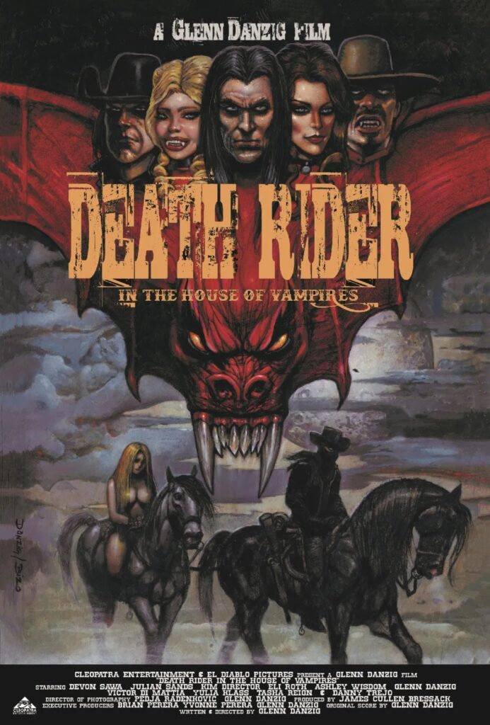 Death Rider in the House of Vampires: Danzig film reaches theatres tomorrow
